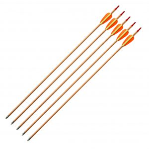 """Enfield Sports Limited - 28"""" Wooden Target Arrows - Pack of 5"""