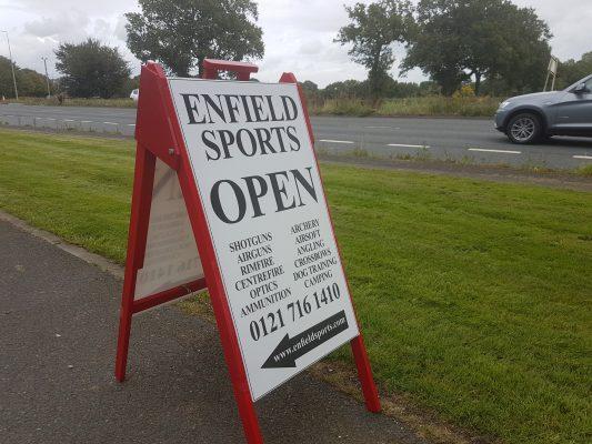 Enfield Sports Gun Shop Birmingham